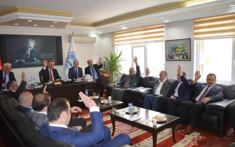 Nisan ayı aylık meclis toplantısı gerçekleştirildi.