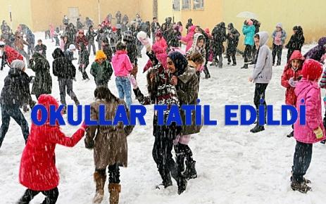 Okulların Bir Gün Tatil edildi.