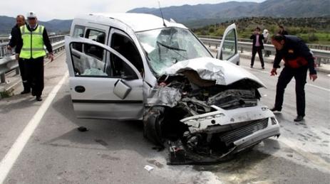 Osmancık'ta Trafik kazası!