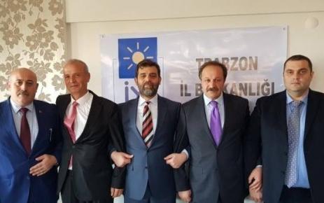 Pirağa Yaşar Şalpazarı'nda İYİ Parti'nin ilçe kurucu başkanı oldu