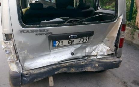 Sakarya-Hendek'te Trafik Kazası.