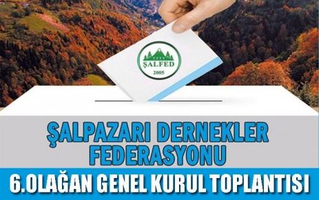 ŞALFED 6. Olağan genel kurul toplantısını 23 Ekim'de yapılacak