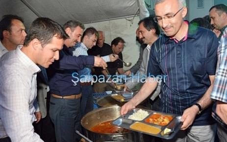 ŞALFED Şalpazarı`nda iftar verdi.