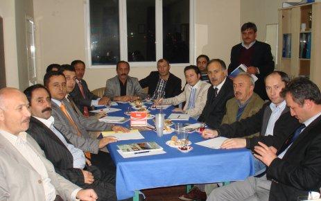 ŞALFED Yönetimi İlk Toplantısını Yaptı