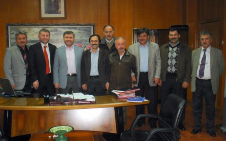ŞALFED'den Hilmi Türkmen'e Ziyaret