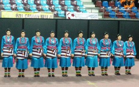 Halk oyunları yarışmasında İlçemizi temsil eden ÇPL 4. oldu.