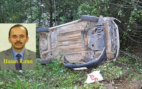 Şalpazarı-Acusu karayolunda trafik kazası.