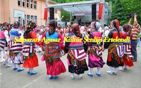 Şalpazarı-Ağasar Kültür Şenliği ertelendi.