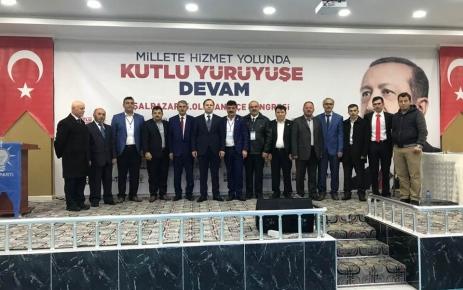 Şalpazarı AK Parti'de Zeki Çabuk dönemi