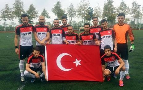 Şalpazarı-Akçakalespor maçı 1-1 sona erdi.
