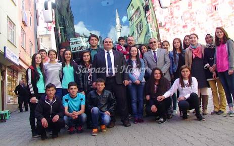 Anadolu Lisesi Öğrencileri Şalpazarı'ndan Hareket Etti.