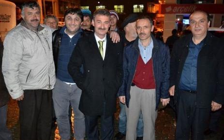 Şalpazarı Belediye başkanlığını Refik Kurukız Kazandı.