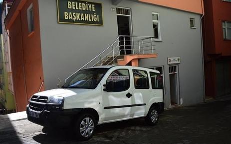Belediye'ye hibe edilen araç hizmete başladı