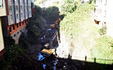 Şalpazarı Belediyesinin çalışmaları devam ediyor.