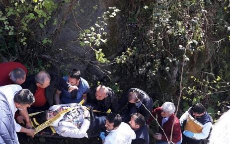 Şalpazarı-Beşikdüzü karayolunda Trafik kazası