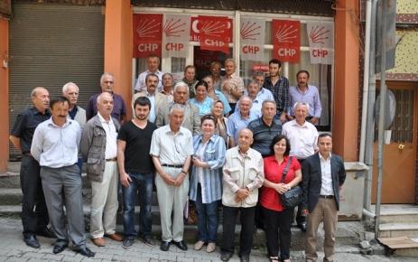 CHP Şalpazarı İlçe Başkanlığı Danışma Kurulu Toplantısını Yaptı.