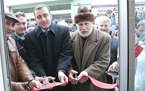 Şalpazarı esnaflarından Ali Bayram 2. fırını açtı.