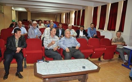Şalpazarı İlçe Tarım Müdürlüğü (KKYDP) bilgilendirme toplantısı yaptı.