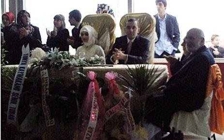 Şalpazarı Kaymakamı Cevdet Bakkal evlendi.