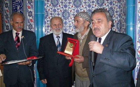Şalpazarı Merkez Cami törenle açıldı