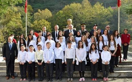 Şalpazarı'nda 10 Kasım Atatürk'ü anma törenleri düzenlendi.