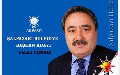 Şalpazarı'nda AK Parti'nin Belediye Başkan adayı mevcut başkan Fehmi Cengiz oldu.