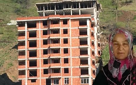 Şalpazarı'nda İnşaattan düşen kadın hayatını kaybetti