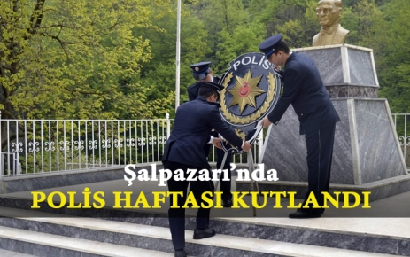 Şalpazarı'nda Polis Haftası Kutlandı