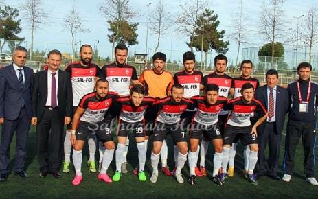 Şalpazarıspor maçı yarıda kaldı.