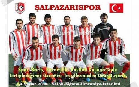 Şalpazarıspor'un gecesi 4 Şubat'ta yapılacak.