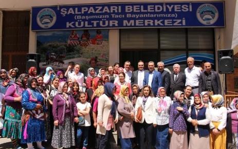 Şalpazarlı Bayanlar Kültür Merkezine Kavuştu.