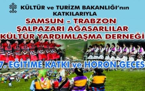 Samsun Şalpazarı Ağasarlılar Derneği gecesi.