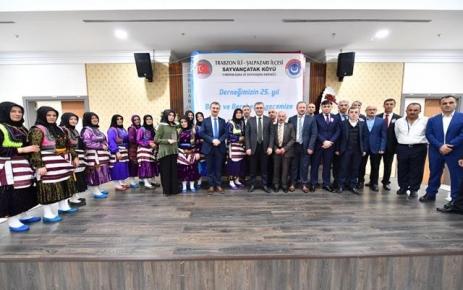 Sayvançatak Derneği 25. Yılını coşkuyla kutladı