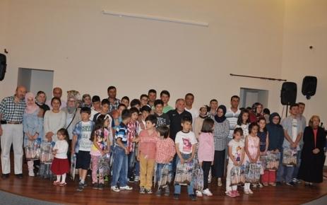 Sayvançatak Derneği öğrenci'ler için bir ödül töreni düzenledi.