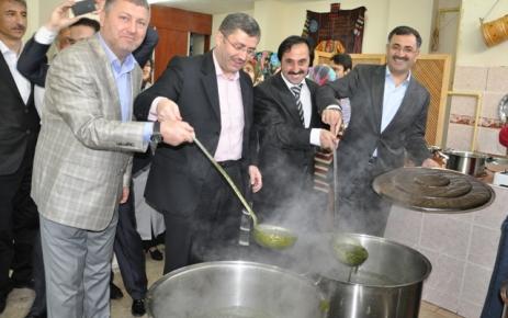Sayvançatak Derneği Sırgan Festivali yaptı..