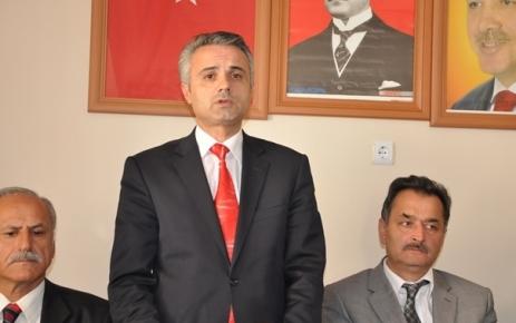 Sezgin Özdin Belediye Başkan Aday adaylığı müracaatını yaptı.