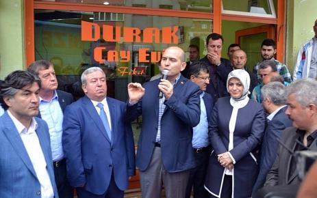 Süleyman Soylu'dan Teşekkür Ziyareti.