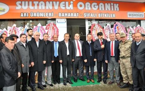"""""""Sultanveli Organik""""  hizmete açıldı."""