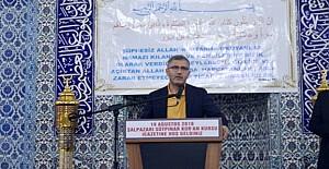 Hilmi Türkmen hemşehrilerine sitem etti