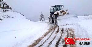 Karla mücadele çalışmaları devam ediyor