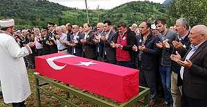 J.Uzm Çv Kamil Kılıç Gökçeköy de toprağa verildi