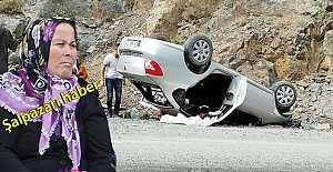 Dün Trafik kazası geçiren Güngör...
