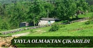 Trabzon#39;da o alanlar yayla olmaktan...