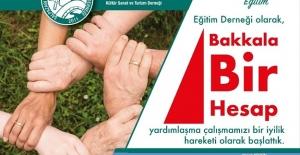 Eğitim Derneği Bakkal'a hesap açtı