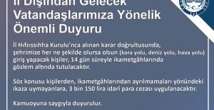 Trabzon'da yasakların...