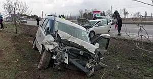 Gümüşhacıköy#039;de Trafik Kazası