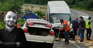Şalpazarı#039;nda trafik kazası!...
