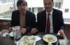 Başkan Günay bayramlaşma sonrası yemek verdi.
