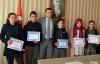 Kaymakam Beşikçi TEOG'da başarılı olan öğrencileri ödüllendirdi