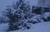 Şalpazarı'nda Nisan karı